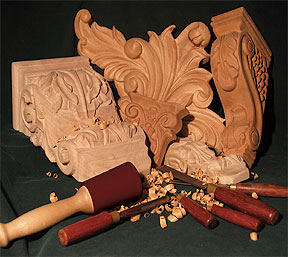 Michael Shea Woodcarving Manufactures And Stocks 100s Of