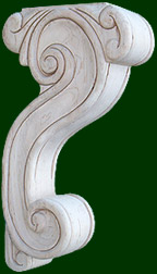 beautifully hand crafted wood corbels 6