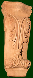 michael shea wood carving custom wood corbels