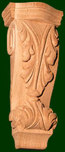 michael shea wood carving custom wood corbels 2