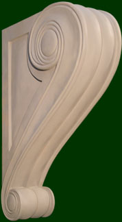 beautifully hand crafted wood corbels 4