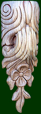 wooden corbel-hand carved 2